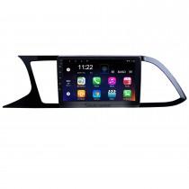 Écran tactile HD 9 pouces pour 2018 Seat Leon Radio Android 10.0 Système de navigation GPS avec prise en charge Bluetooth AUX WIFI Carplay
