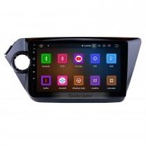 9 pouces Aftermarket Android 11.0 Radio système de navigation GPS pour 2012-2015 KIA K2 RIO HD écran tactile TPMS DVR OBD II Commande au volant USB Bluetooth WiFi Vidéo AUX Caméra arrière