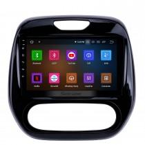 9 pouces Android 11.0 HD Écran tactile Unité principale Système de navigation GPS pour 2011-2016 Renault Captur CLIO Samsung QM3 Manuel A / C Bluetooth Autoradio Réseau sans fil DVR Vidéo USB Lien miroir