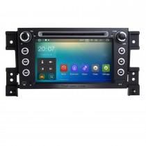 Android 7.1 système de navigation GPS pour 2005-2011 SUZUKI GRAND VITARA avec Lecteur DVD Ecran tactile Radio Bluetooth WiFi TV IPOD HD 1080P Vidéo Caméra de recul Contrôle Volant USB SD