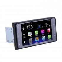 7 pouces HD écran tactile Android 10.0 GPS Autoradio de navigation pour TOYOTA COROLLA Camry Land Cruiser HILUX PRADO RAV4 Support 1080P Vidéo Bluetooth Mirror Link WIFI USB SD DVR Caméra de recul