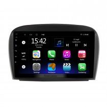 9 pouces Android 10.0 pour 2004-2011 Mercedes Benz SL classe W203 Radio Système de navigation GPS avec écran tactile HD Prise en charge Bluetooth Carplay OBD2