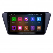 9 pouces 2015-2018 Skoda nouvelle Fabia Android 11.0 GPS Radio Radio Bluetooth HD écran tactile AUX USB WIFI soutien Carplay OBD2 1080P