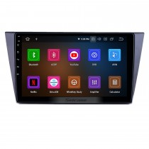 10,1 pouces Android 11.0 Radio pour 2016-2018 VW Volkswagen Bora Bluetooth HD à écran tactile Navigation GPS Carplay support USB TPMS DAB + DVR