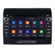 Aftermarket 7 pouces Android 9.0 2007-2016 Fiat Ducato / Peugeot Boxer Radio Lecteur DVD Système de navigation GPS avec Bluetooth 3G Wifi Lien miroir Commande au volant Caméra de recul DVR OBD2 DAB +