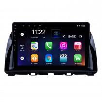 10.1 pouces 1024 * 600 Touch Screen Radio de voiture Android 10.0 pour 2012-2015 Mazda CX-5 avec navigation GPS Système audio Bluetooth 3G WIFI USB DVR Lien miroir 1080P Vidéo