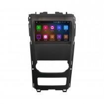 9 pouces voiture GPS Navigation Stéréo Android 11.0 pour 2012 Mahindra XUV500 avec 8 codes CPU Image dans l'image Prise en charge Bluetooth RDS DVR Caméra de recul
