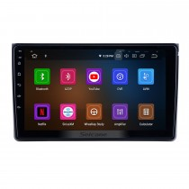 Écran tactile HD pour 2002 2003 2004-2008 Audi A4 Radio Android 9.0 9 pouces Navigation GPS Bluetooth WIFI Support Carplay DVR DAB +