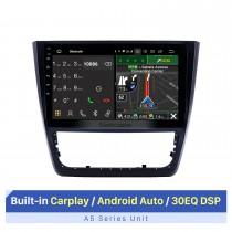 10,1 pouces 2014-2018 Skoda Yeti Android 10.0 Radio de navigation GPS Bluetooth HD écran tactile AUX USB Carplay