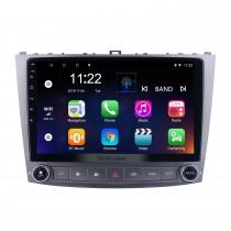Pour Lexus IS250 Radio 10.1 pouces Android 10.0 HD Système de navigation GPS à écran tactile avec prise en charge Bluetooth WIFI Carplay TPMS