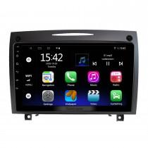 9 pouces Android 10.0 pour BENZ SLK 2004-2012 Système de navigation GPS Radio avec écran tactile HD Prise en charge Bluetooth Carplay OBD2