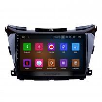 10,1 pouces HD à écran tactile Radio système de navigation GPS Android 11.0 pour 2015 2016 2017 Support Murano Bluetooth 3G / 4G WIFI OBD2 Lien Miroir USB Contrôle au volant