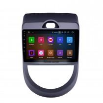 2010-2013 Kia Soul Android 11.0 Radio de navigation GPS 9 pouces Bluetooth Bluetooth HD à écran tactile WIFI Support USB Carplay caméra de recul