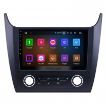 Android 9.0 Pour 2019 Changan Cosmos Manual A / C Radio 10.1 pouces Système de navigation GPS Bluetooth HD Écran tactile Carplay support DVR