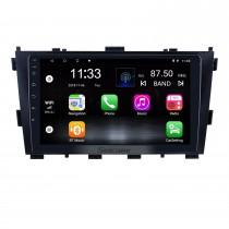 Pour 2014 Baic Huansu Radio 9 pouces Android 10.0 HD Système de navigation GPS à écran tactile avec prise en charge Bluetooth Carplay DAB +