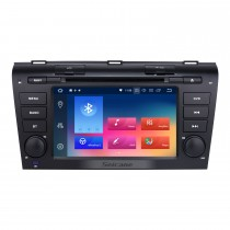 7 pouces Android 9.0 Radio 2004-2009 Mazda 3 Navigation GPS Bluetooth WIFI USB support OBD2 1080P DVR Lien miroir