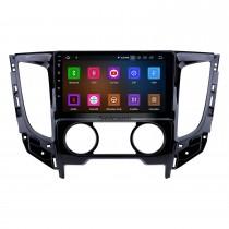9 pouces Android 11.0 2015 Mitsubishi TRITON manuel A / C HD à écran tactile radio de navigation GPS avec support Carplay Bluetooth WIFI 4G DVD Player