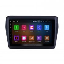 2017-2019 SUZUKI Swift 9 Pouces Android 11.0 HD Écran Tactile Voiture Stéréo Système de Navigation GPS Radio Bluetooth WIFI USB Support DAB + OBDII SWC