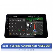 10,1 pouces Android 10.0 Radio de navigation GPS pour 2017-2019 Nissan Kicks Bluetooth HD écran tactile support Carplay DVR SWC
