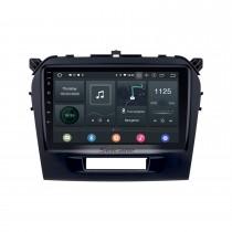 2015 2016 Suzuki Vitara Android 10.0 Radio Lecteur DVD Système de navigation GPS avec écran tactile HD 1024 * 600 OBD2 DVR TV 1080P Vidéo WIFI Commande au volant Bluetooth Caméra de recul USB