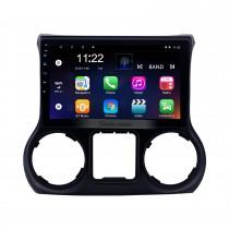 10,1 pouces Android 10.0 pour JEEP Wrangler 2011 2012 2013 2014 2015 2016 2017 Radio Système de navigation GPS avec écran tactile HD Prise en charge Bluetooth Carplay OBD2