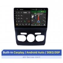 10,1 pouces Android 10.0 Lecteur multimédia de voiture pour 2013 2014 2015 2016 Citroen C4L LHD GPS Navi Radio Bluetooth Wifi FM USB Support de lien miroir OBD 1080P Lecteur DVD vidéo SWC Caméra de recul DVR
