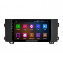OEM Android 11.0 pour 2018 ROVER MG6 Radio avec Bluetooth 9 pouces HD Écran tactile Système de navigation GPS Carplay support DSP
