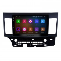 2007-2015 Mitsubishi Lancer 10.1 pouces Android 11.0 Radio 1024 * 600 Écran tactile DVD Système de navigation GPS Lien de rétroviseur Bluetooth OBD2 DVR Caméra de recul TV 1080P 4G WIFI Commande au volant