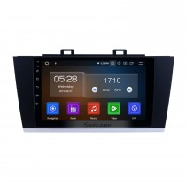 2015-2018 Subaru Legacy Android 9.0 Radio de navigation GPS 9 pouces Bluetooth Bluetooth HD à écran tactile WIFI USB Support Carplay DAB + SWC