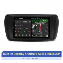 10,1 pouces Android 10.0 pour FOTON Takuru E 2020 Navigation GPS Système audio de voiture Bluetooth Carplay intégré Android Auto 4G WiFi Caméra de recul DVR DAB + Commande au volant