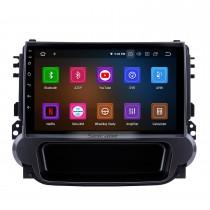2012 2013 2014 Chevy Chevrolet MALIBU Android 9.0 Lecteur DVD Radio système de navigation GPS HD 1024*600 Ecran tactile Bluetooth OBD2 DVR arrière Caméra TV 1080P Vidéo 3G WIFI  Contrôle Volant USB SD Lien Miroir