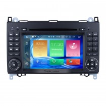 7 pouces Android 8.0 Radio de navigation GPS pour VW Volkswagen Crafter Mercedes Benz Viano / Vito / Classe B B180 / Sprinter / A Classe A150 avec support tactile HD Bluetooth support DAB + SWC