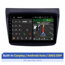 2010 MITSUBISHI PAJERO Sport / L200 / 2006 + Triton / 2008 + PAJERO Sport2 Montero Sport / 2010 + Pajero Dakar / 2008 + Challenger Android 10.0 9 pouces Radio de navigation GPS Bluetooth HD à écran tactile USB Carplay Music AUX support TPMS OBD2 TV numéri