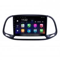 Écran tactile HD 9 pouces Android 10.0 pour 2015 2016 2017 2018 2019 Système de navigation GPS Fiat Doblo Radio avec prise en charge Bluetooth Carplay