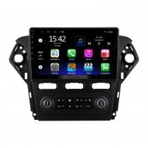 10,1 pouces Android 10.0 pour 2011-2013 Ford Mondeo Zhisheng AUTO AC Radio Système de navigation GPS avec écran tactile HD Prise en charge Bluetooth Carplay OBD2