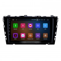2015-2016 VW Volkswagen Lamando Android 9.0 Radio de navigation GPS 9 pouces 9 pouces Bluetooth HD avec écran tactile USB Carplay Music