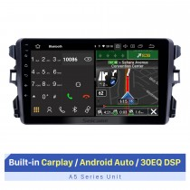 2010-2018 BYD G3 Android 10.0 9 pouces Radio de navigation GPS Bluetooth HD écran tactile USB Carplay support DVR DAB + SWC
