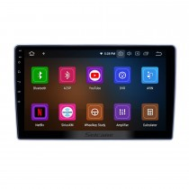 10,1 pouces Android 9.0 Radio de navigation GPS pour 2004-2013 Nissan Paladin avec support tactile HD Carplay AUX Bluetooth support 1080p