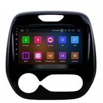 Android 11.0 9 pouces 2011-2016 Renault Captur CLIO Samsung QM3 Auto A / C Autoradio Navigation GPS Stéréo Bluetooth avec système audio 1080P Vidéo USB Réseau sans fil Lien Miroir Aux