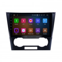 2007-2012 Chevy Chevrolet Epica Android 9.0 Radio de navigation GPS 9 pouces 9 pouces Bluetooth HD avec support tactile Carplay DAB + SWC