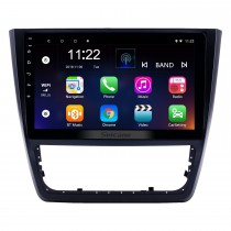 10,1 pouces Android 8.1 HD Radio tactile Navigation GPS pour 2014-2018 Skoda Yeti avec Bluetooth AUX support Carplay Mirror Link