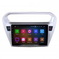 Android 11.0 9 pouces Radio de navigation GPS pour 2013 2014 Peugeot 301 Citroen Elysée Citroen C-Elysée Unité de tête Stéréo avec Carplay Bluetooth Prise en charge AUX USB DVR TPMS
