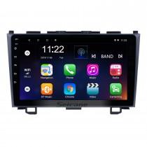 2006 2007 2008-2011 Honda CRV 9 pouces Android 10.0 HD Écran tactile Radio Navigation GPS Bluetooth USB WIFI OBD2 Caméra de rétroviseur Lien miroir