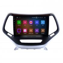 10,1 pouces Android 11.0 Radio Système de navigation GPS 2016 Jeep Grand Cherokee avec OBD2 DVR 4G WIFI Bluetooth Caméra de recul Lien miroir Commande au volant