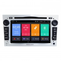 2005-2011 Opel Zafira Android 9.0 Lecteur DVD capacitif multi-touch 7 pouces GPS Radio Navi Bluetooth WIFI musique Commande au volant