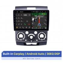 Android 10.0 9 pouces Radio de navigation GPS pour 2006-2010 Ford Everest / Ranger Mazda BT-50 avec écran tactile HD Prise en charge Bluetooth Carplay TV numérique