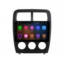 Écran tactile HD 9 pouces Android 11.0 pour 2010-2012 DODGE CALIBER Radio Système de navigation GPS Prise en charge Bluetooth Carplay Caméra de recul