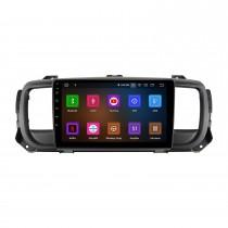Écran tactile HD de 9 pouces pour 2016 Citroen Jumpy Space Tourer stéréo de voiture stéréo avec prise en charge Bluetooth commande au volant