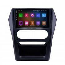 HD Écran tactile 2015 Mahindra Scorpio Auto A / C Android 11.0 9 pouces GPS Navigation Radio Bluetooth USB Carplay WIFI AUX soutien DAB + OBD2