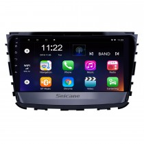 10,1 pouces Android 8.1 HD Radio tactile Navigation GPS pour 2019 Ssang Yong Rexton avec Bluetooth WIFI AUX support Carplay Mirror Link